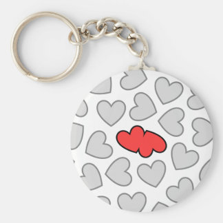 Hearts Collide Keychain