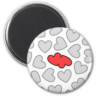 Hearts Collide Magnet