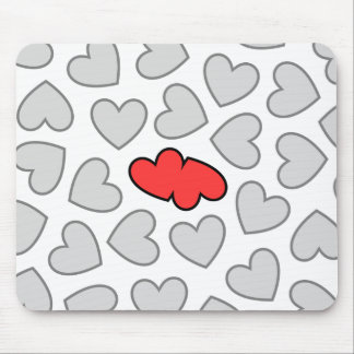 Hearts Collide Mouse Pad