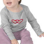 Hearts conected Templete Items T Shirt