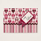 Hearts Confection Gift Tag