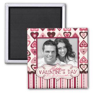 Hearts Confection Magnet Photo Square