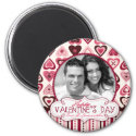 Hearts Confection Photo Magnet magnet