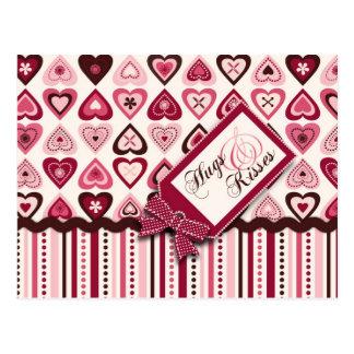 Hearts Confection Postcard C