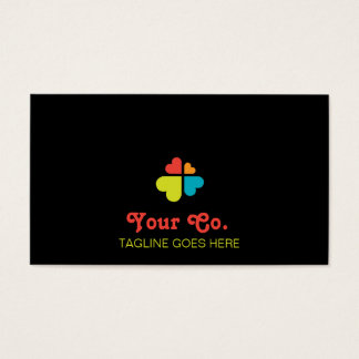 Hearts Cross Business Card
