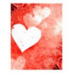 Hearts! Customized Letterhead
