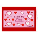 Hearts: Dental Hygienist Card