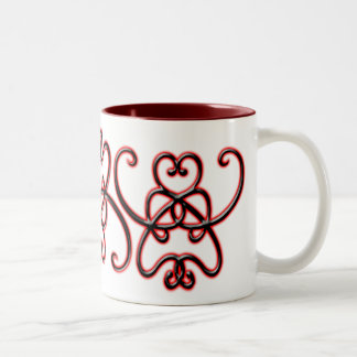 Hearts Design Mug