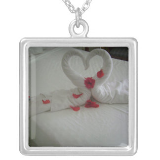 Hearts Desire Silver Plated Necklace