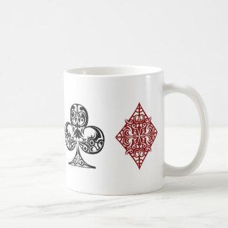 hearts, diamond, clubs, Spades Coffee Mug