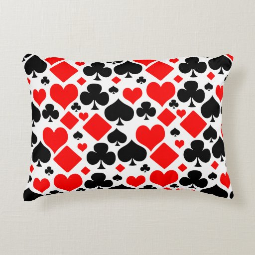 Hearts, Diamonds, Clubs and Spades Pattern Design