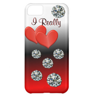 Hearts & Diamonds I Phone Case- customize iPhone 5C Cover