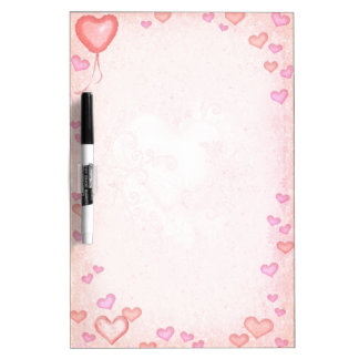 Hearts Dry Erase Whiteboards