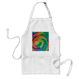 Hearts Entwined Adult Apron