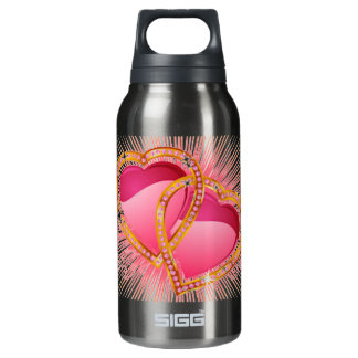 Hearts Entwined Insulated Water Bottle