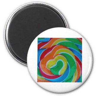 Hearts Entwined 2 Inch Round Magnet