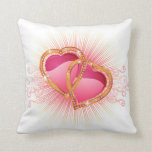 Hearts Entwined Throw Pillows