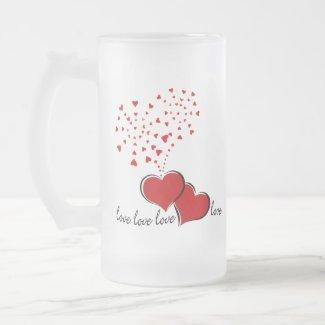 Hearts Explosion Mug