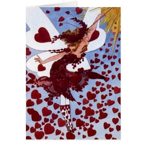 Hearts Fairy Cards