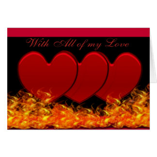 Hearts& Fire Notecards Card