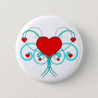 Hearts Flourish Button