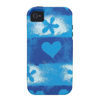 Hearts Flowers Case-Mate iPhone 4 Cases