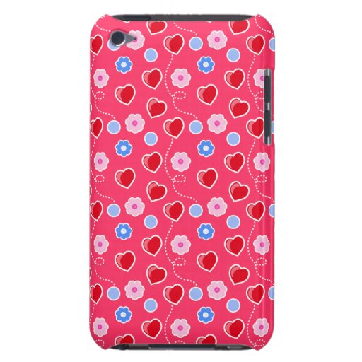 Hearts - Flowers customizable Case-Mate iPod Touch iPod Touch Cover