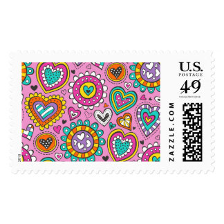 Hearts&Flowers Stamps