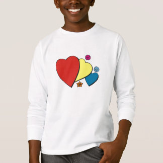 Hearts & Flowers - T-Shirt