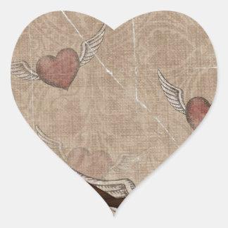 Hearts Flutter Heart Sticker