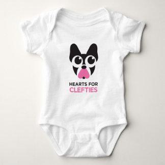 Hearts for Clefties Baby Bodysuit