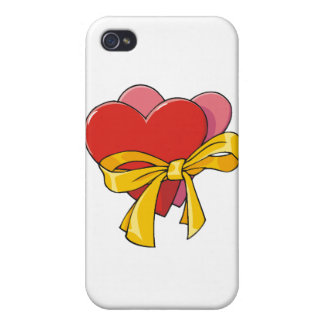Hearts For Love iPhone 4/4S Cover