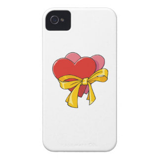 Hearts For Love iPhone 4 Cover