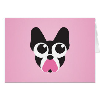 Hearts for Puppies Greeting Card