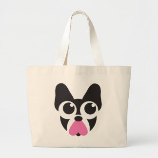 Hearts for Puppies Large Tote Bag