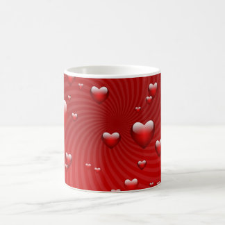 Hearts for the St. Valentine's day - Coffee Mug