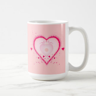 Hearts for the St. Valentine's day - Classic White Coffee Mug
