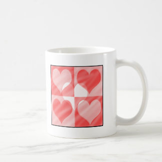 Hearts for you! classic white coffee mug