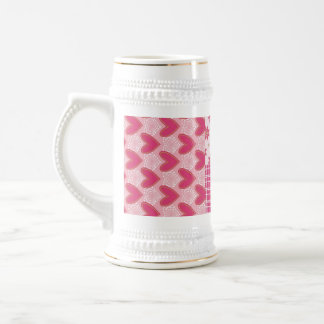 Hearts Forever Beer Stein