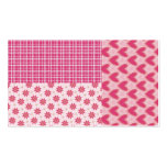 Hearts Forever Business Card Template