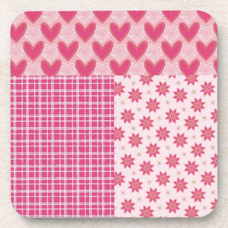 Hearts Forever Drink Coaster