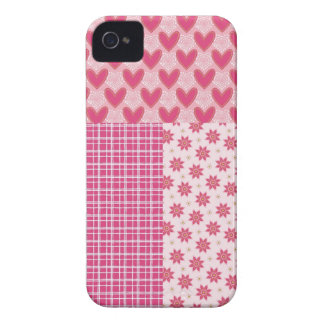 Hearts Forever iPhone 4 Case