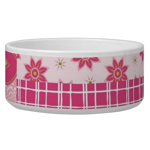 Hearts Forever Pet Food Bowl