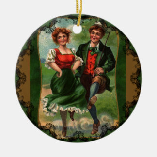 Hearts Full of Joy - Irish Dancing Ornament