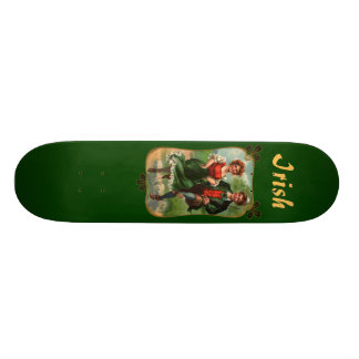 Hearts Full Of Joy Irish Skate Board