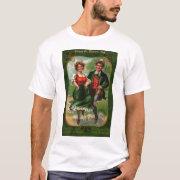 Hearts Full Of Joy Women's St. Patrick's Day Shirt