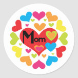 Hearts Galore Mom T-shirts and Gifts Sticker