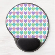 Hearts Gel Mouse Pad