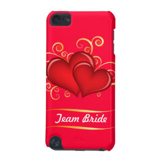 Hearts & Gold iPod Touch (5th Generation) Cases