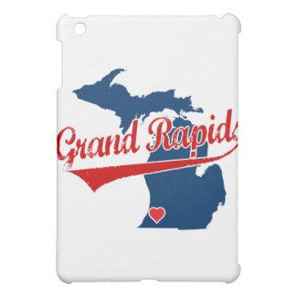 Hearts Grand Rapids Michigan iPad Mini Cases